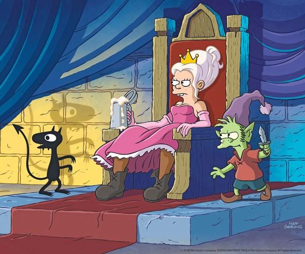 Disenchantment creator Matt Groening draws upon many influences for his new cartoon