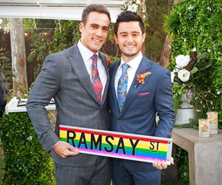 Wedding of the year! Aaron and David tie the knot in a heartwarming episode of Neighbours