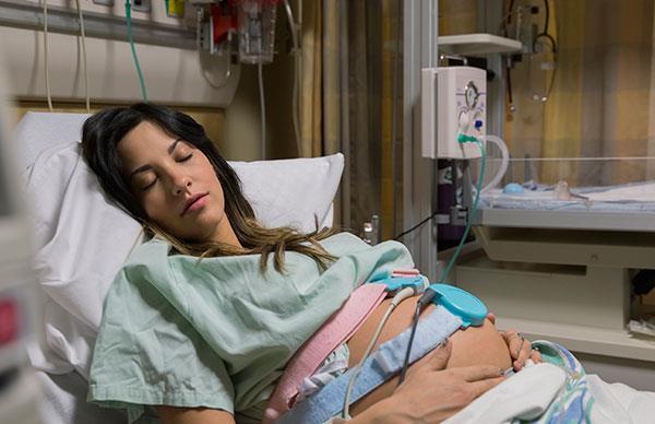 pregnancy brain aneurysm birth