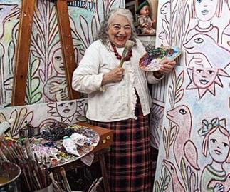 Who was Melbourne artist Mirka Mora?
