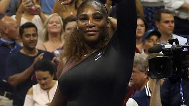 Serena Williams US Open: Tennis star swaps controversial catsuit for designer tutu to win first round