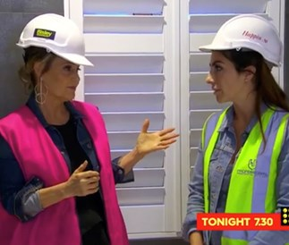 The Block's Sara has a massive showdown with judge Shaynna Blaze