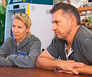 'We're like prisoners' Has the pressure become too much for The Block's Kerrie and Spence?