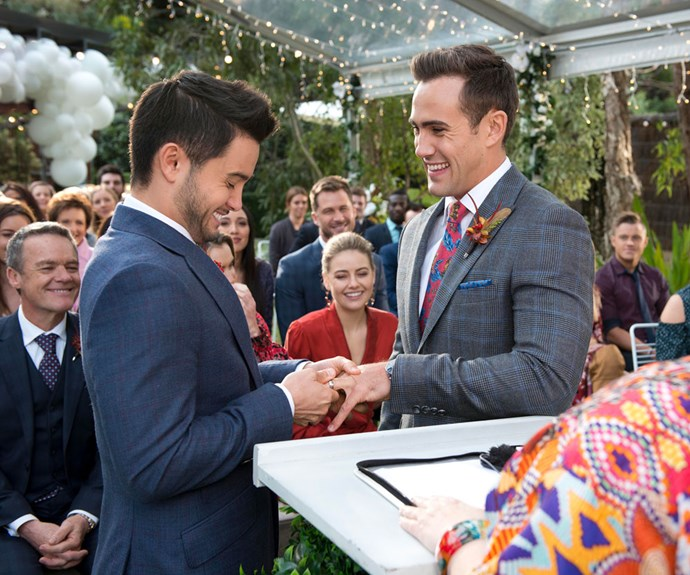 Opinion: Why Neighbours should be celebrated for first same-sex wedding on Australian television
