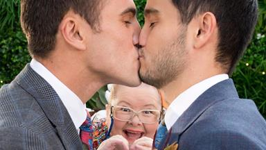 EXCLUSIVE: Neighbours' Takaya Honda on the iconic same-sex wedding episode and Magda Szubanski