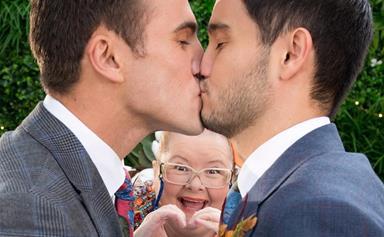 EXCLUSIVE: Neighbours' Takaya Honda on the iconic same-sex wedding episode and Magda Szubanski