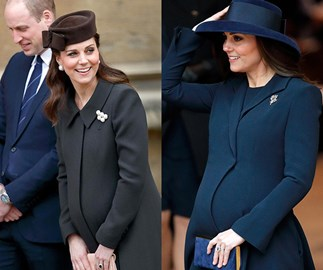 Duchess Catherine pips Meghan and Princess Charlotte in the style stakes according to a new poll