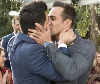 Australia's emotional response to the Neighbours same-sex wedding