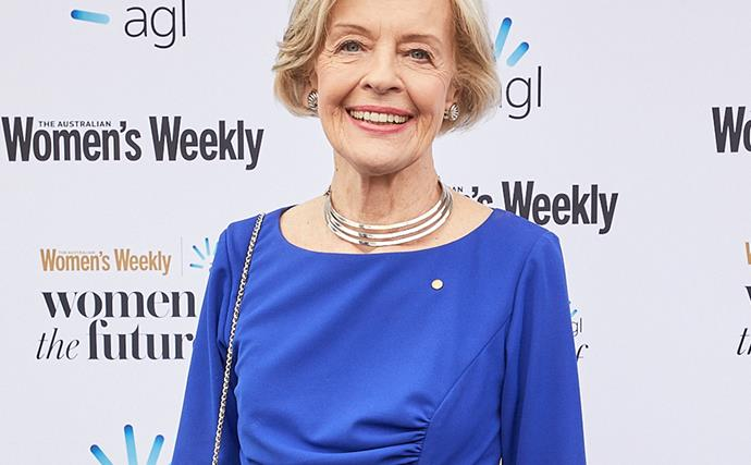Women of the Future Awards 2018: Dame Quentin Bryce shares inspiring message for females