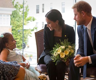 Prince Harry delivers a touching tribute to sick children with Duchess Meghan at charity event