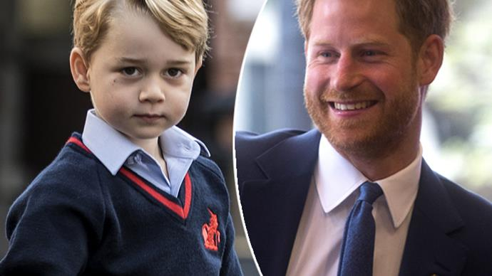 The sweet thing Prince Harry and Prince George have in common