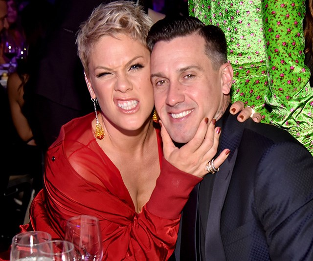 Pink's epic clap back to the troll who criticised Carey Hart's parenting