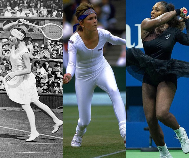 The most empowering fashion moments from the tennis court