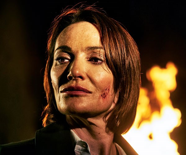 Sarah Parish is outstanding as a conflicted cop in UK crime drama Bancroft