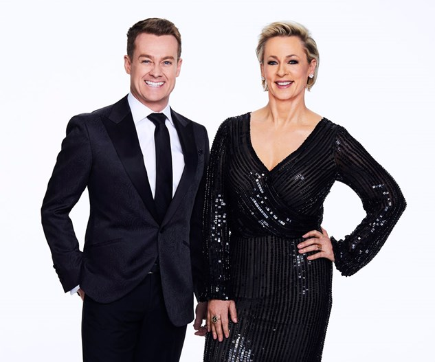 First Look: Dancing With The Stars with hosts Grant Denyer and Amanda Keller