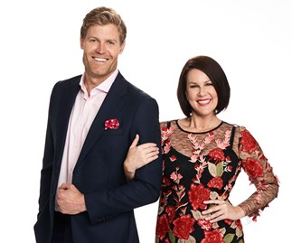 Julia Morris and Dr Chris Brown to host Sunday Night Takeaway on Network Ten