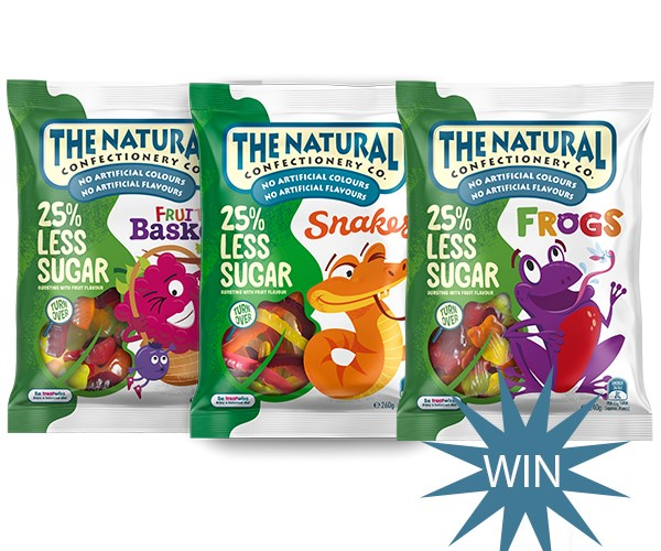 Win The Natural Confectionery Co. Family & Friends Fun Experience!