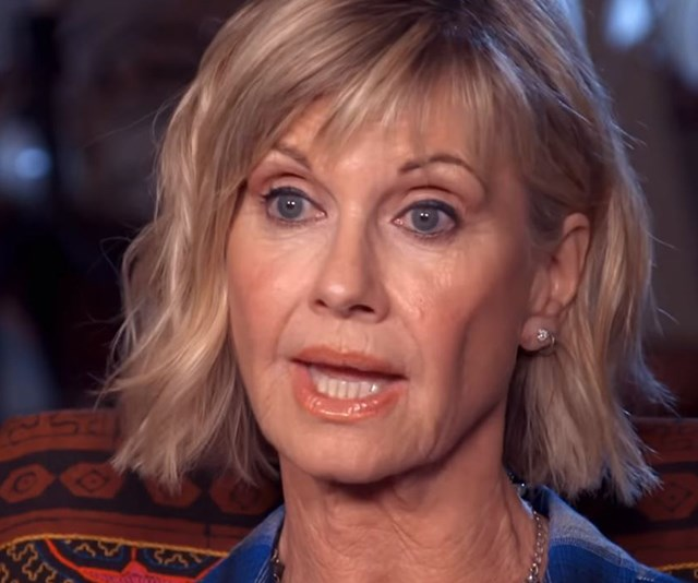 Olivia Newton John opens up about her cancer treatment