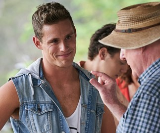 Scott Lee bids farewell to Home and Away