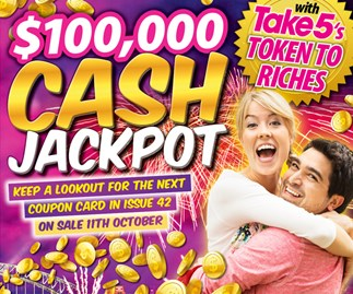 Tokens to Riches Cash Jackpot