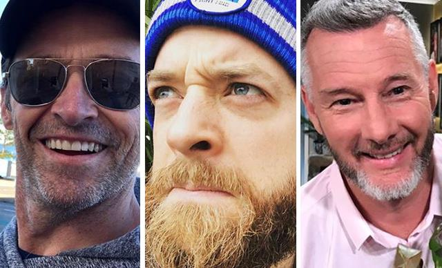 The best celebrity beards in Australia