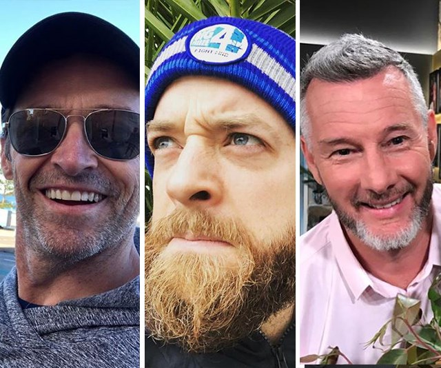 The best celebrity beards in Australia