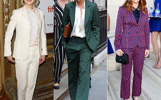 The Pantsuit: Why celebrity mums are embracing the trend