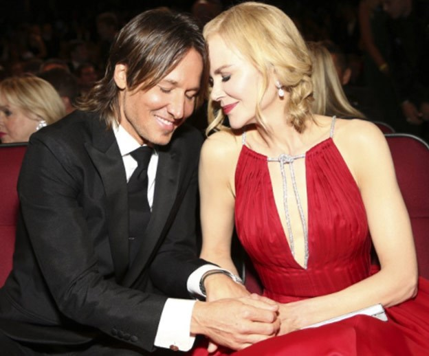 Nicole Kidman celebrates Keith Urban's People's Choice Awards nomination
