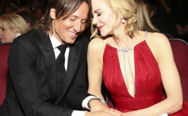 Nicole Kidman celebrates Keith Urban's People's Choice Awards nomination