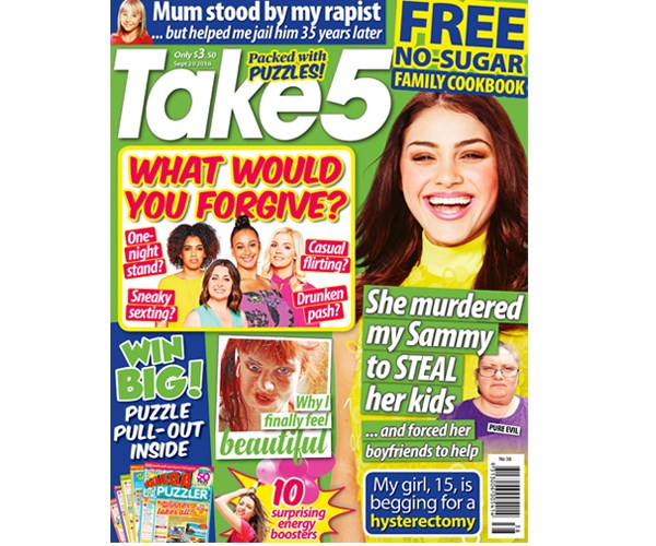 Take 5 Issue 38 Coupon - on sale now!