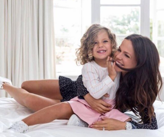 Tammin Sursok and daughter Phoenix