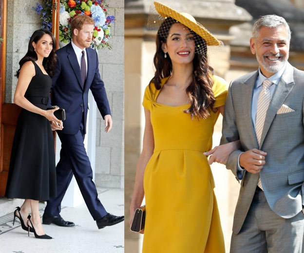 EXCLUSIVE: George and Amal Clooney tipped to be godparents to Duchess Meghan and Prince Harry's baby