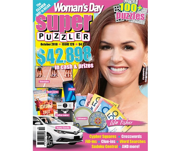 Woman's Day Superpuzzler Issue 129