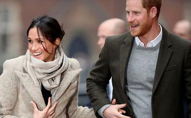 Prince Harry and Duchess Meghan's undercover code names revealed