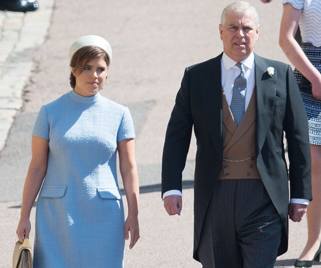 Prince Andrew and Princess Eugenie