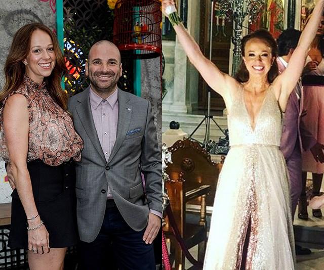 MasterChef's George Calombaris marries girlfriend Natalie Tricarico in glamorous Greek ceremony