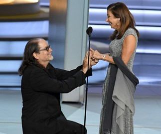 The surprise on-stage proposal that just woke up the Emmys!