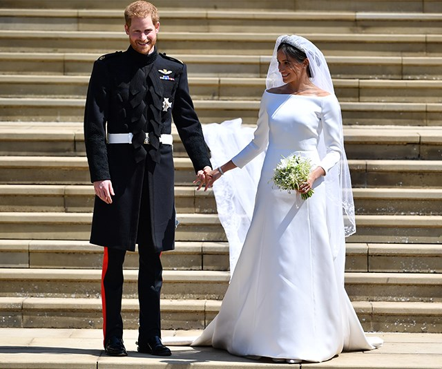 This video of Duchess Meghan being reunited with her wedding dress will warm your heart