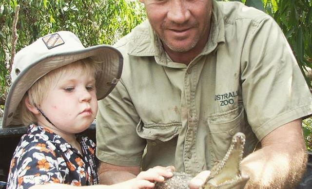 Robert Irwin continues to carry on his father's legacy