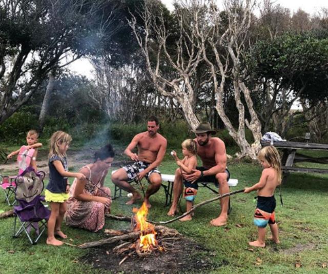 Hemsworth camping holiday