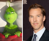 Benedict Cumberbatch is The Grinch