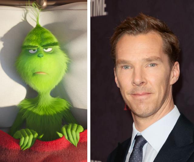 Benedict Cumberbatch is The Grinch