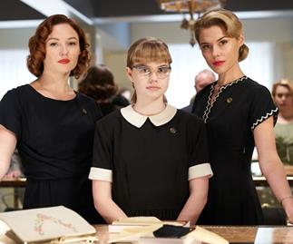 There's plenty in store in very chic throwback film Ladies in Black