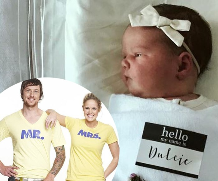 The Block's Sophie and Dale Vine reveal their newest project, a beautiful baby girl