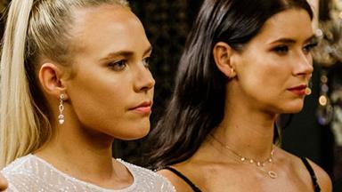 Best friends at war! The Bachelor Australia's Britt confronts Cass over relationship with Nick