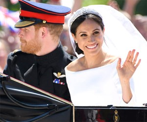 Duchess Meghan's 'something blue' from her wedding day was the sweetest tribute to Prince Harry