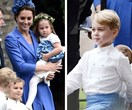 Prince George and Princess Charlotte melt hearts in bridal party at friends wedding