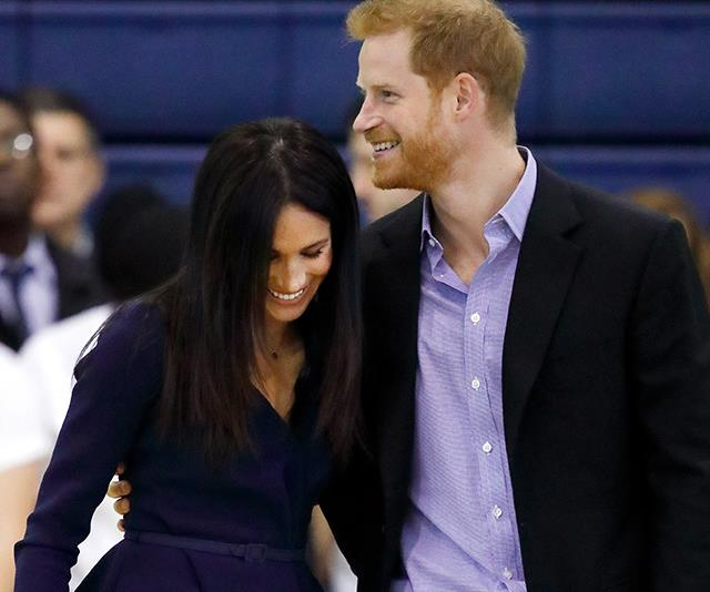 Prince Harry and Duchess Meghan have a ball of a time at sports award ceremony