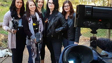 Real life: I'm part of a ghost hunting girl gang