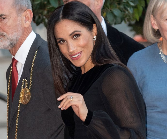 The special significance of Duchess Meghan's first solo outing